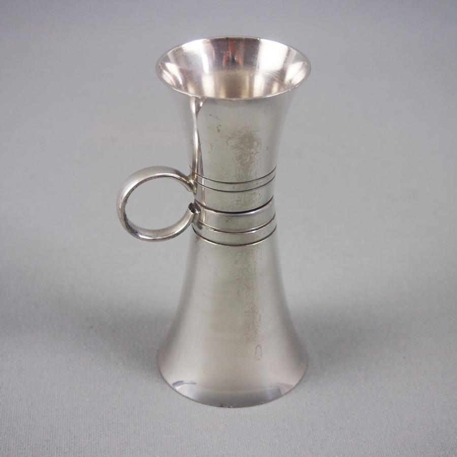 Silver Plated Cocktail Measure or Jigger C1950s