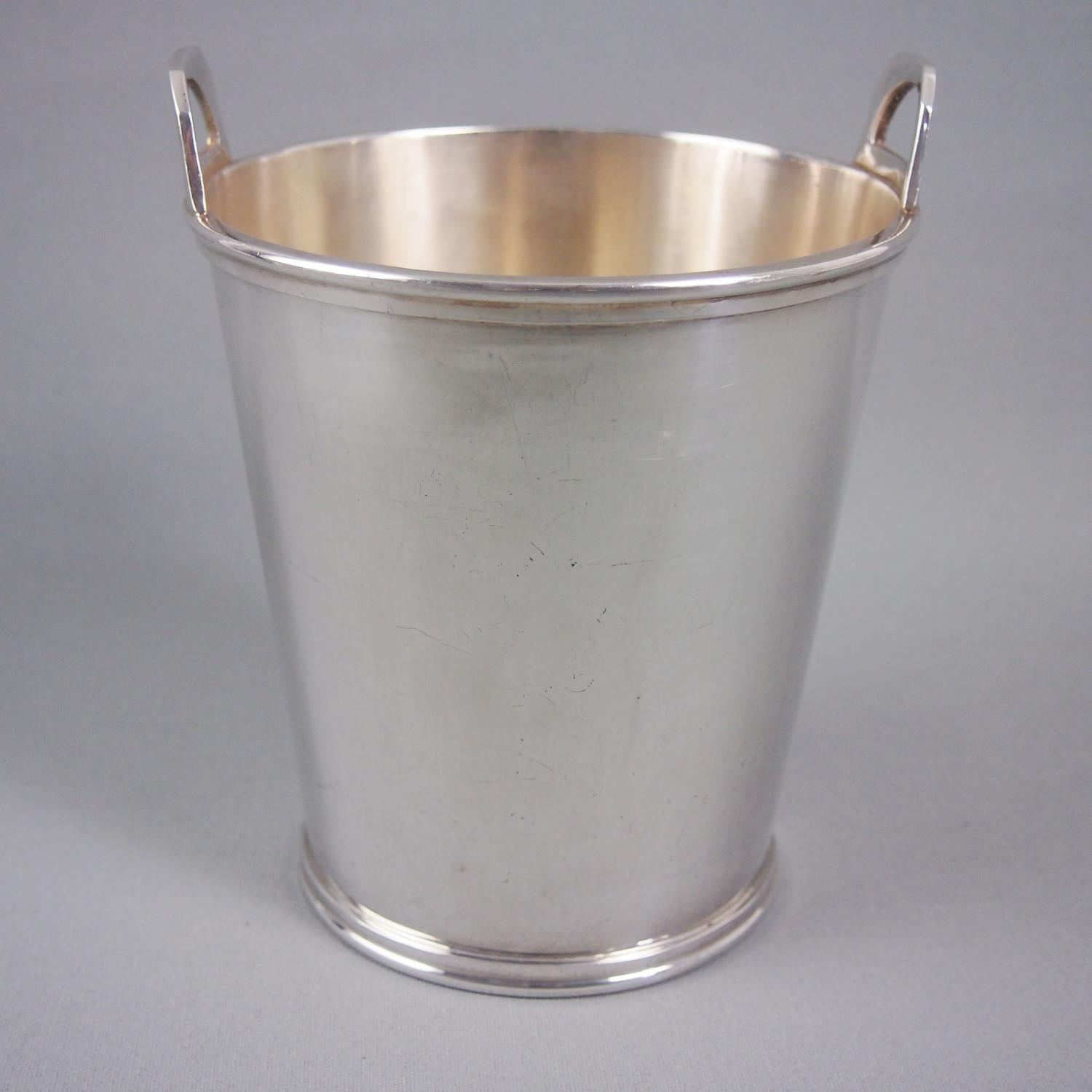 Silver Plated Medium Ice Bucket C1950s