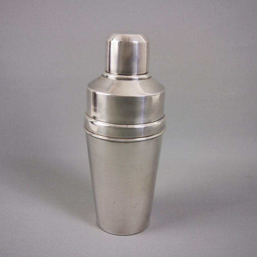 Silver Plated Tall Cocktail Shaker