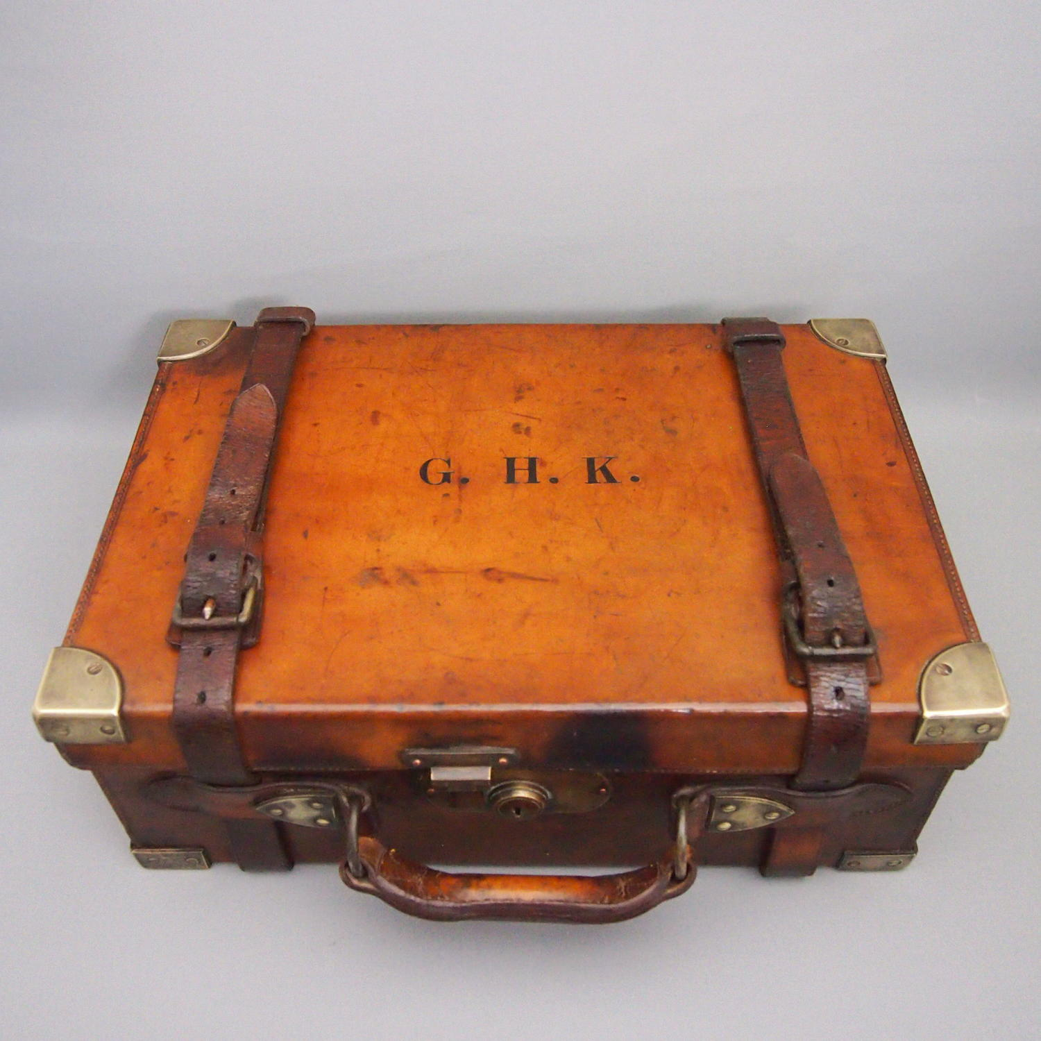 Hide Antique Shooting Cartridge Case C1900