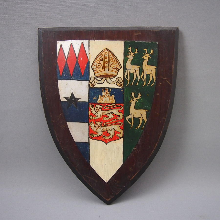 Oxford Universiry Lincoln College Crest C1900