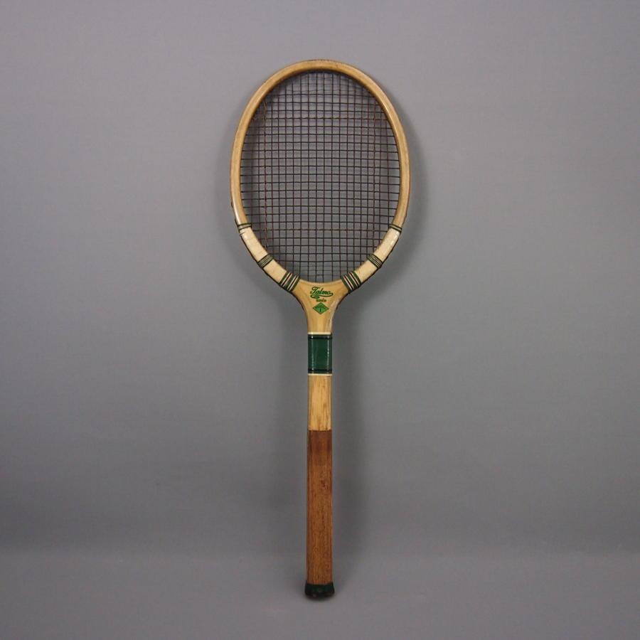 1940s Wood Framed Tennis Racket