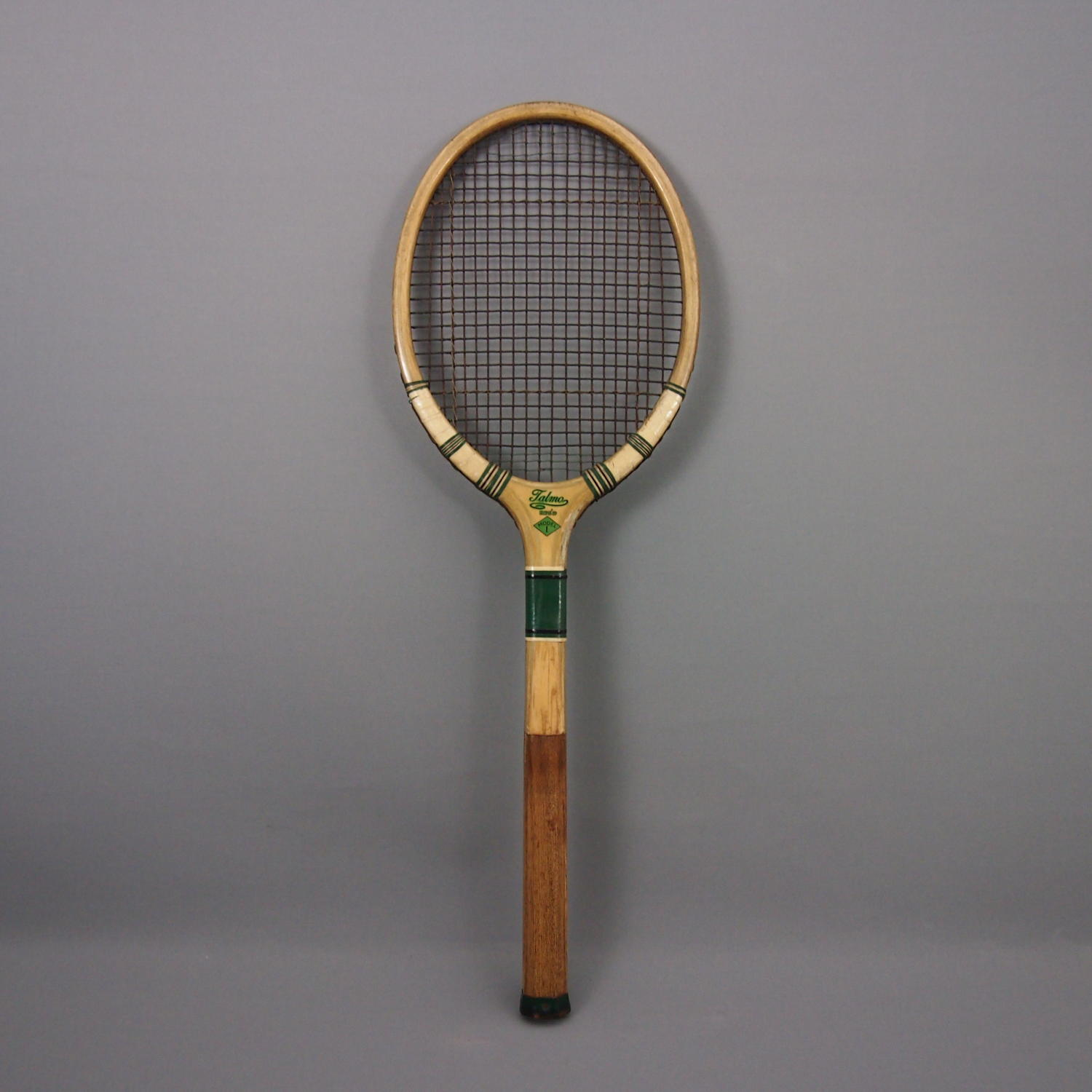 1940s Wood Framed Tennis Racket