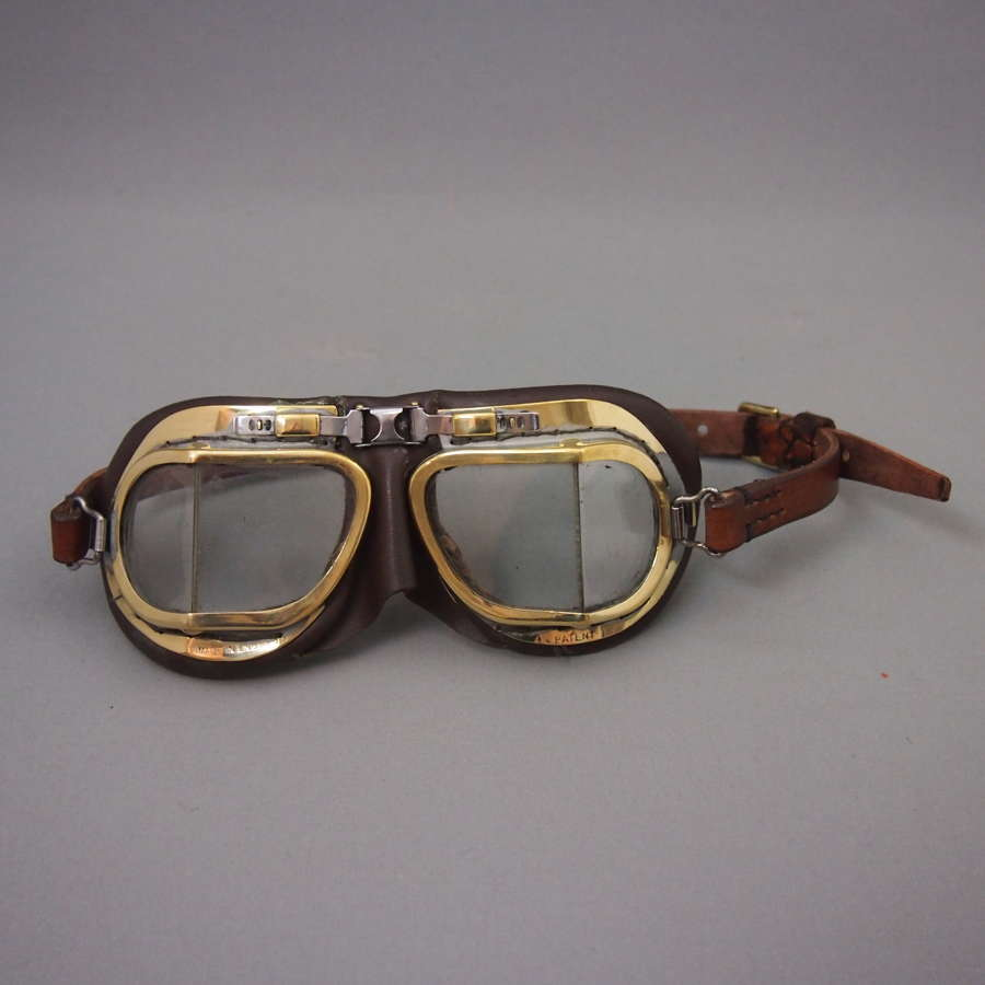 Vintage Driving Goggles C1930s. W8484