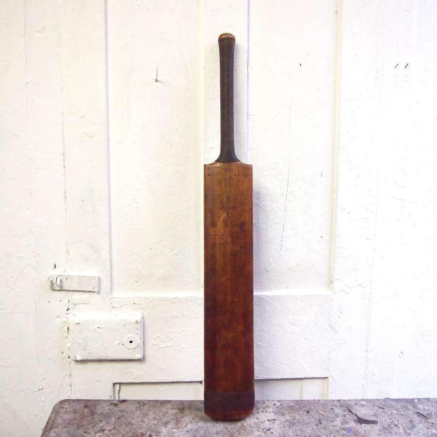 Vintage 1950's cricket bat. C H Bull Autograph. W8510