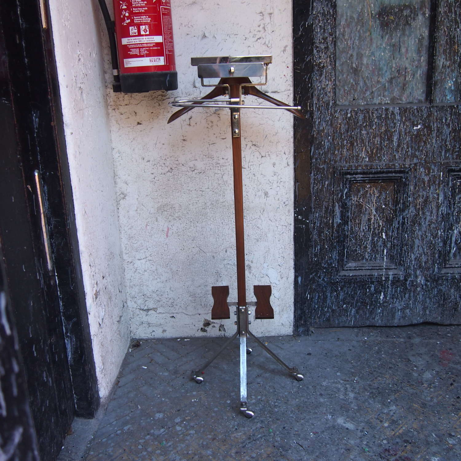 Gentlemans Valet Clothes Stand French C1950s W8528