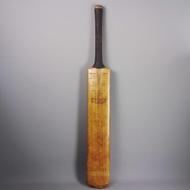Classic Vintage Stuart Surridge Cricket Bat C1950s.W8547