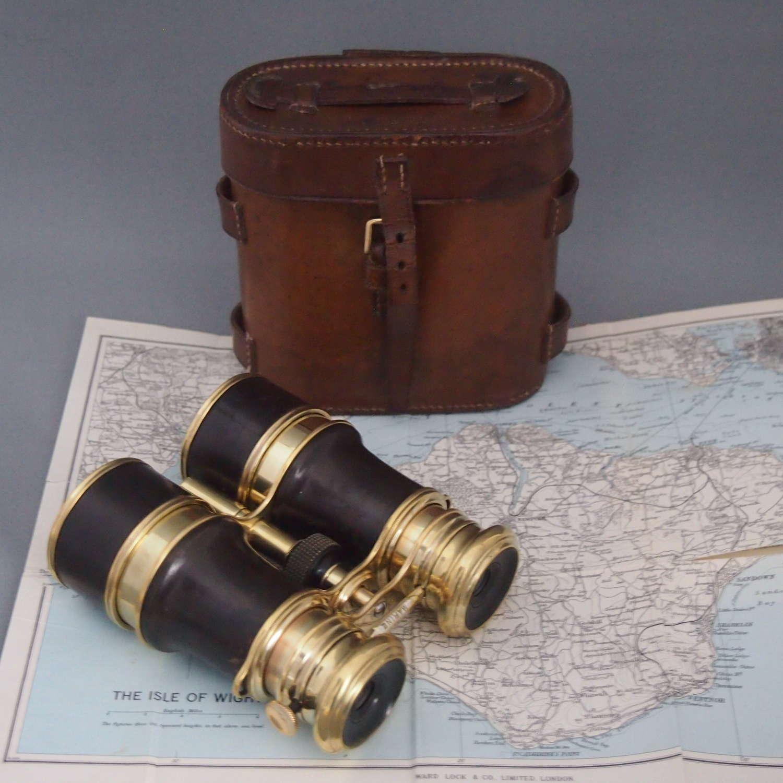 Antique Triple Lens Binoculars W8557