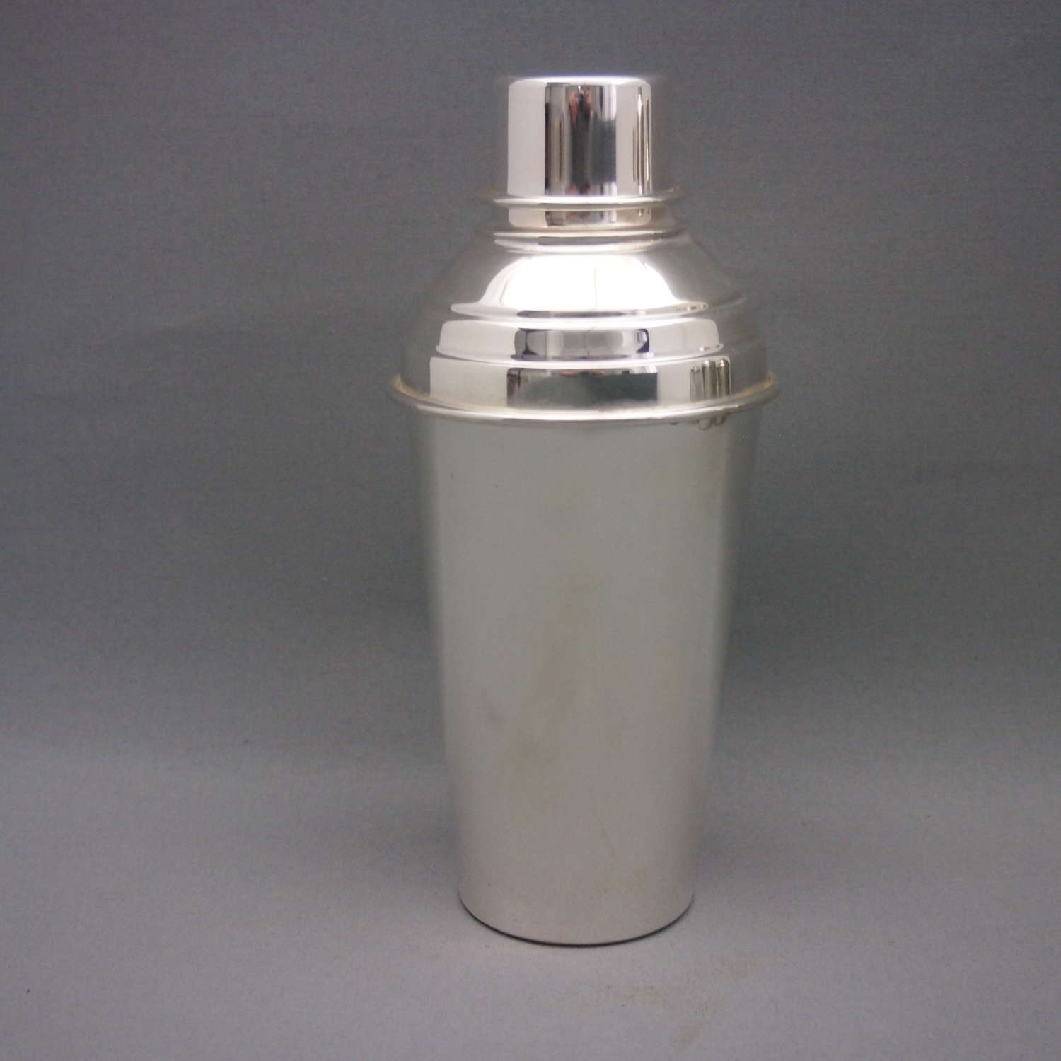 Silver Plated  Vintage Cocktail Shaker W8560