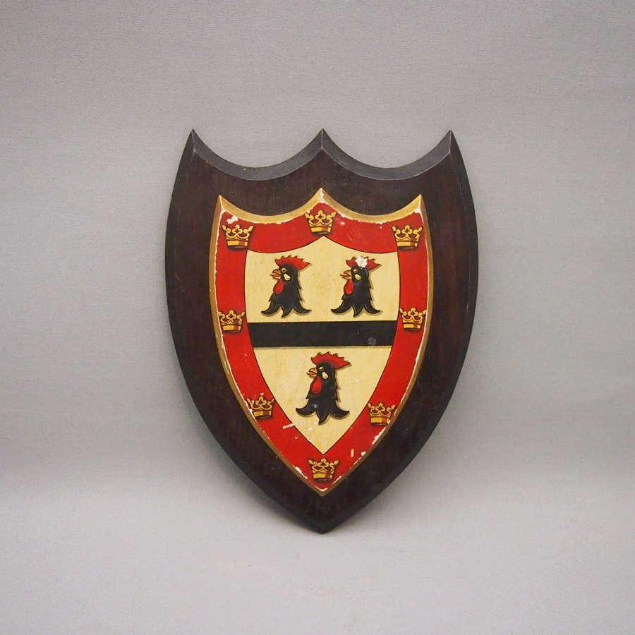 Vintage Jesus College Cambridge  University Crest. W8632