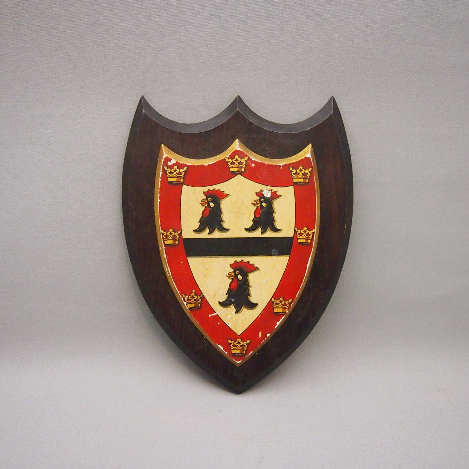 Vintage Jesus College Cambridge  University Crest. W8632