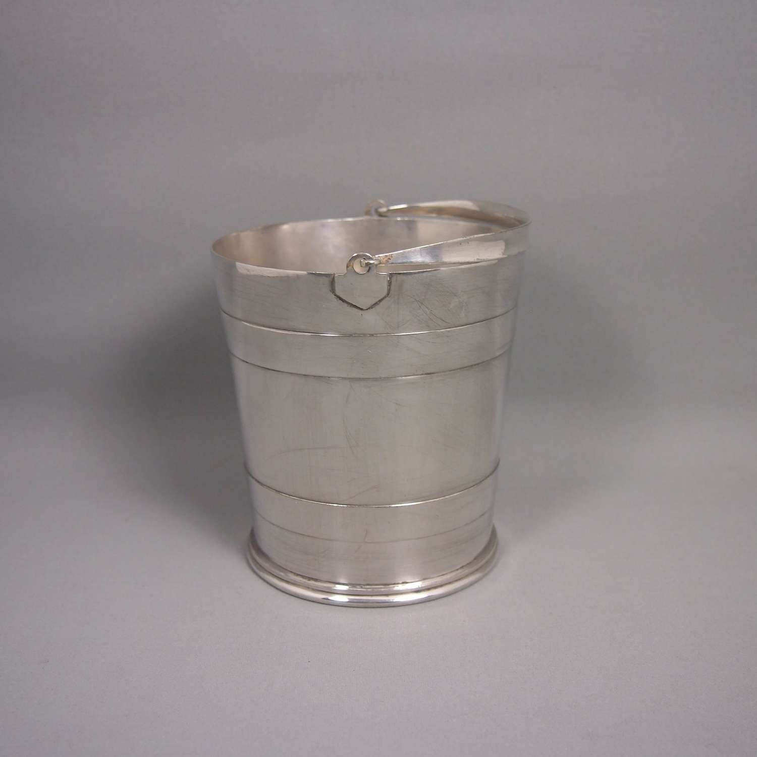 Vintage Silver Plated Ice Bucket C1930s.W8636